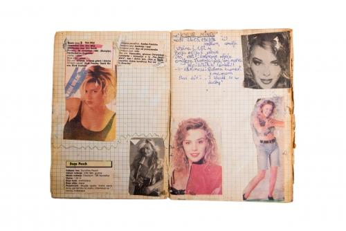 61_war diary - kylie minoque
